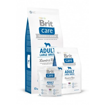 Корм для собак Brit Care Adult Large Breed Lamb and Rice