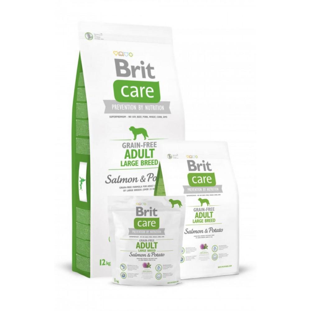 Корм для собак Brit Care GF Adult Large Breed Salmon and Potato