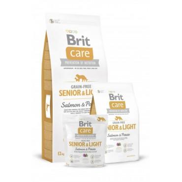 Корм для собак Brit Care GF Senior and Light Salmon and Potato