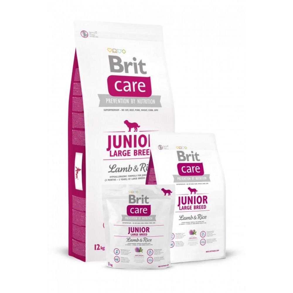 Корм для собак Brit Care Junior Large Breed Lamb and Rice