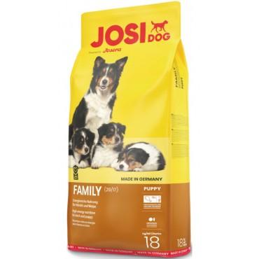 Корм для сук и щенков всех пород Josera JosiDog Family (29/17) 18 кг