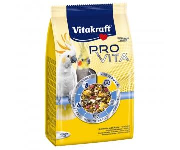 Корм с пробиотиком для средних попугаев Vitakraft Pro VITA 750 г (33741)