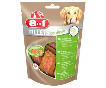 Куриное филе для улучшения пищеварения у собак 8in1 S, 80 гр (660985 /112440)