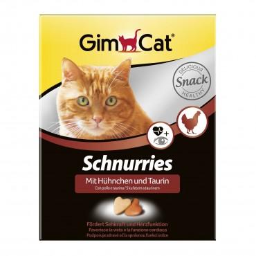 Лакомства для кошек GimCat Schnurries с курицей, 420 гр (G-409351)