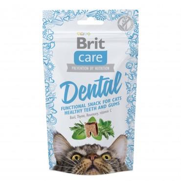 Лакомство для кошек Brit Care Functional Snack Dental 50 г (для зубов) (111263/1371)