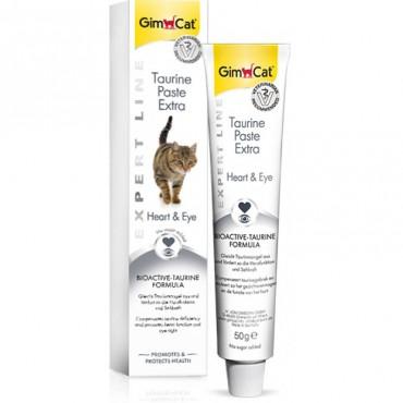 Лакомство для кошек GimCat Expert Line, Taurine Paste 50 г (для глаз и сердца) (G-402109)