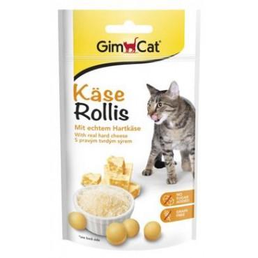 Лакомство для кошек GimCat Kase-Rollis комплекс витаминов, 40 гр (G-418728/418339)
