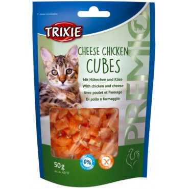 Лакомство для кошки Trixie Premio Chicken Cubes курица, 50 гр (42706)