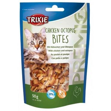 Лакомство для кошки Trixie Premio Chicken Octopus Bites курица/осьминог, 50 гр (42704)