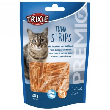 Лакомство для котов Trixie PREMIO Tuna Strips полоски тунца 20 г (42746)