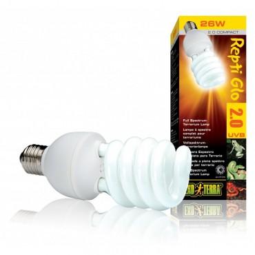 Лампа для террариума Exo Terra Repti Glo Compact 2.0
