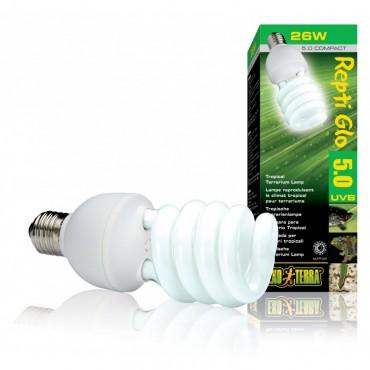 Лампа для террариума Exo Terra Repti Glo Compact 5.0