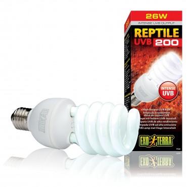 Лампа для террариума Exo Terra Reptile UVB 200 УФ-В спектр, E27