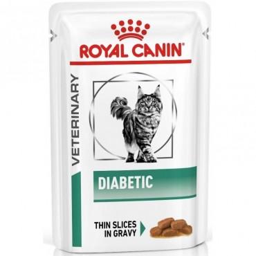 Лечебные консервы для кошек Royal Canin DIABETIC CAT Pouches 0,085 кг