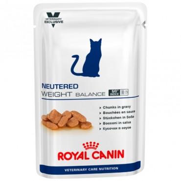 Лечебные консервы для кошек Royal Canin NEUTERED WEIGHT BALANCE Pouches 0,1 кг