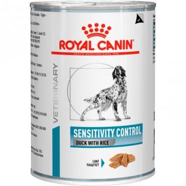 Лечебные консервы для собак Royal Canin SENSITIVITY CONTROL DUCK DOG Cans 0,42 кг