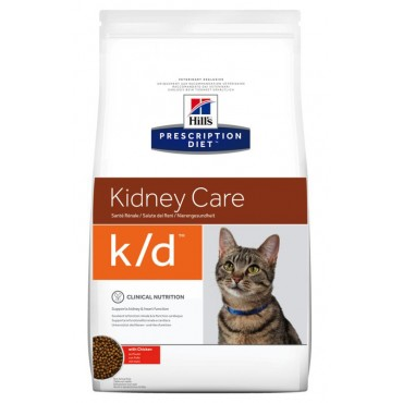 Лечебный сухой корм для кошек при заболеваниях почек Hill's PD Feline K/D