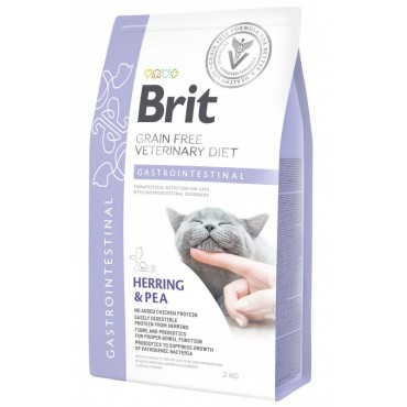 Лечебный сухой корм для кошек с проблемами ЖКТ Brit GF Veterinary Diets Cat Gastrointestinal