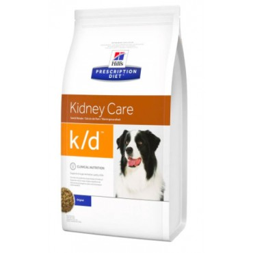 Лечебный сухой корм для собак Hill's Prescription Diet Canine K/D