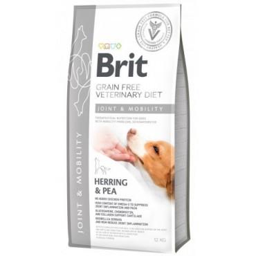 Лечебный сухой корм для собак при заболеваниях суставов Brit GF VetDiets Dog Mobility