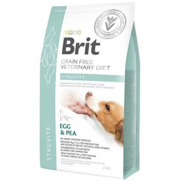 Лечебный сухой корм для собак с мочекаменной болезнью Brit GF VetDiets Dog Struvite