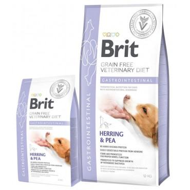 Лечебный сухой корм для собак с нарушениями пищеварения Brit GF VetDiets Dog Gastrointestinal