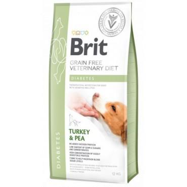 Лечебный сухой корм для собак с сахарным диабетом Brit GF VetDiets Dog Diabetes