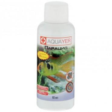 Лекарство для аквариумных рыб Aquayer Парацид, 60 мл