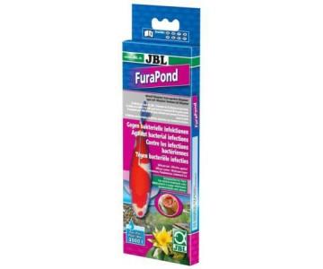 Лекарство для прудовых рыб JBL FuraPond 2 (24 табл), 27181/27180