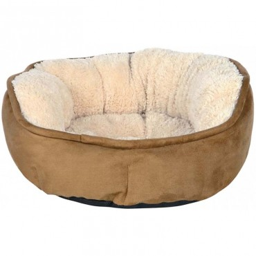 Лежак для кошек и собак Trixie Otello коричневый/бежевый