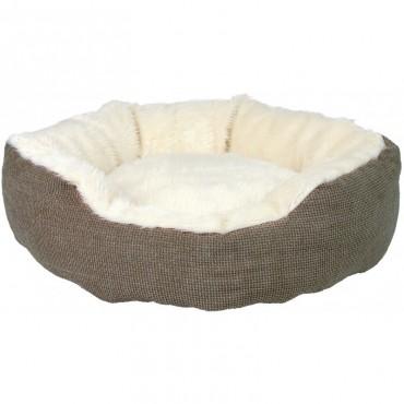Лежак для кошек и собак Trixie Yuma с мехом 45 см (37041)