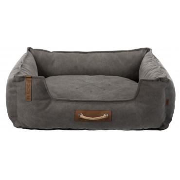 Лежак для собак Trixie Föhr BE NORDIC, 80 × 60 см, темно серый (37448)