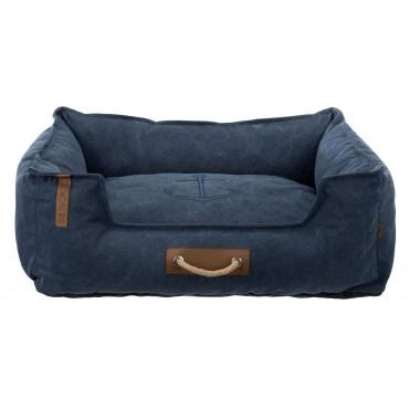 Лежак для собак Trixie Föhr BE NORDIC, 60 × 50 см, темно синий (37457)
