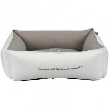 Лежак для собак Trixie Pet's Home белый/бежевый
