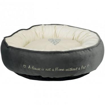 Лежак для собак Trixie Pet's Home серый/кремовый (37489)