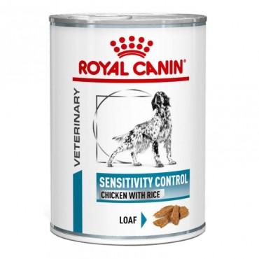 Лечебные консервы для собак Royal Canin SENSITIVITY CONTROL CHICKEN DOG Cans 0,42 кг