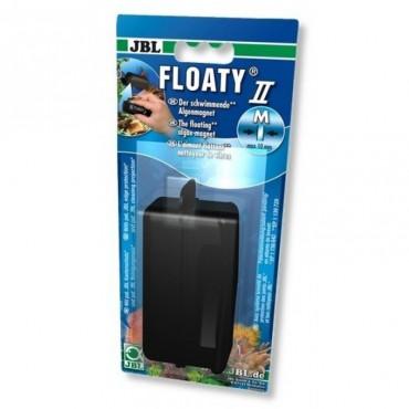 Магнитный скребок для аквариумного стекла JBL FLOATY 2M, (61377)