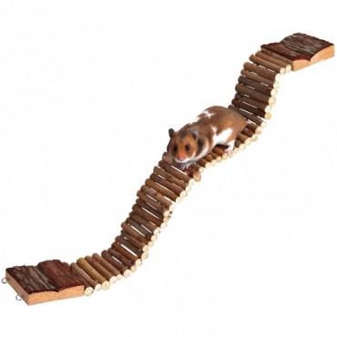 Мост для грызунов Trixie деревянный подвесной (6221)