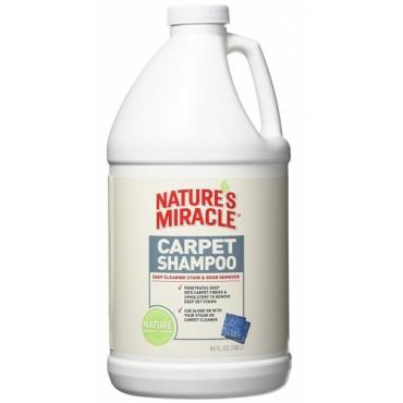 Моющее средство для ковров и мягкой мебели с нейтрализатором аллергенов 8in1 Nature's Miracle 1,89 л (680222 /5554)