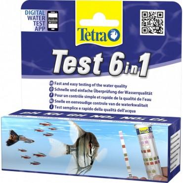 Набор полосных тестов для аквариума Tetra Test 6 in1 (175488)