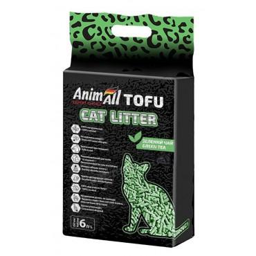Наполнитель для кошачьего туалета AnimAll TOFU зеленый чай 2,6 кг/6 литров (61564)