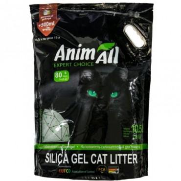 Наполнитель для туалета кошки AnimAll Зеленый изумруд 10,5 л