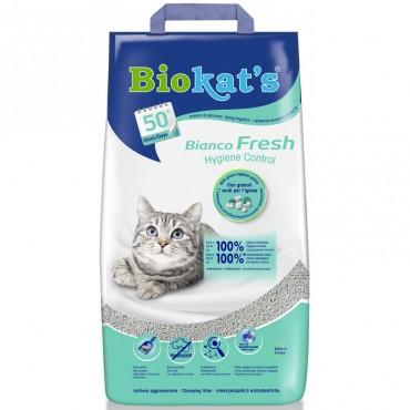 Наполнитель для туалета кошки Biokat's Bianco Fresh