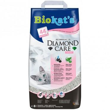 Наполнитель для туалета кошки Biokats Diamond Care Fresh, 8 л (G-613260)