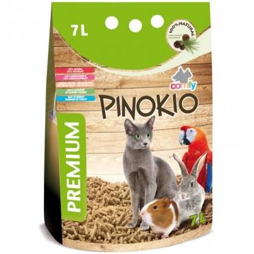 Наполнитель древесный для туалета животных Comfy Pinokio, 7 л (112161)