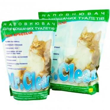 Наполнитель силикагелевый для кошек Mr. Clean