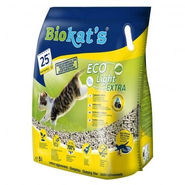 Наполнитель туалета для кошек Biokat's Eco Light Extra 5 л (тофу) (G-75.97)