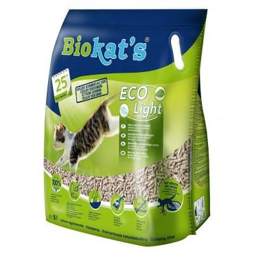 Наполнитель туалета для кошек Biokat's Eco Light 5 л (тофу) (G-75.95)