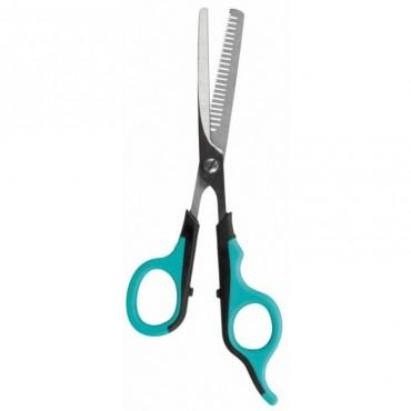 Ножницы для стрижки собак и кошек Trixie филировочные, 18 см (2352)