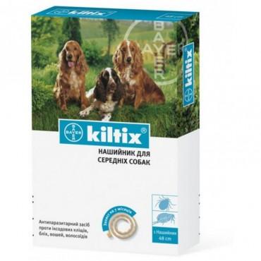 Ошейник антиблошинный для собак Bayer Килтикс средний 48 см